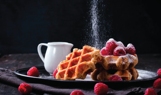 """Would You Like A Waffle? (The Only Right Answer Is """"Yes"""") in Mysore cover pic"""